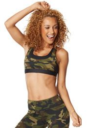 Camo Crossback Bra | Zumba Wear Save 10% on Zumba® wear on zumba.com. Use Savings Code 10SALE or click to shop with 10% discount https://www.zumba.com/en-US/store/US/affiliate?affil=10sale