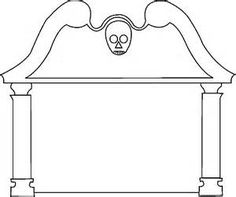 Freebie: Tombstone Template & Other Fall Printables | Pinterest ...