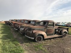 Rusty old Trucks