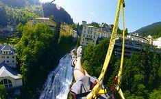 Gastein: vízesés felett repülhetünk Salzburg