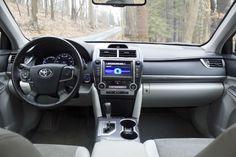2013 #Toyota #Camry #Hybrid Interior http://www.vandergrifftoyota.com/toyota-reviews/2013-camry.htm