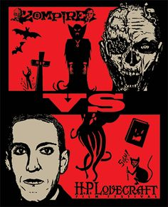 Zompire VS H. Dad or Carl? Film Festival Poster, Hp Lovecraft, Festival Shirts, Pre Party, Halloween Season, Cool Posters, Popular Culture, Ancient Egypt, Occult