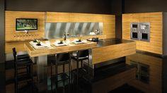High Gloss Olive wood veneer