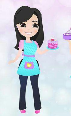 Cake Logo Design, Bakery Logo, Decorate Notebook, Cupcake Party, Whimsical Art, Pop Art, Aurora Sleeping Beauty, Doodles, Lily