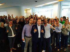 Gleich 2x den Digital Communication Award gewonnen. Robert und Team werden kräftig gefeiert. Bin sooo stolz auf meine Leute!