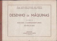 Desenho de máquinas, portada, libros antiguos, Mercado de la tía Ni, Sabarís, Baiona