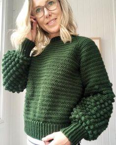 Berry-Dipped Raglan Crochet pattern by Little Golden Nook Crochet Jumper, Crochet Baby, Free Crochet, Knit Crochet, Beginner Crochet, Knit Jumper Pattern, Crochet Patterns For Beginners, Knitting For Beginners, Arm Knitting