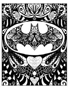 Batman Fan Art Super Hero Batman Doodle Art One of by DoodleButton, $12.00