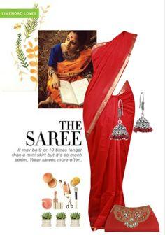 Exclusive Look by lidia Purple Saree, Orange Saree, Pink Saree, Blue Clutch, Purple Earrings, Scrapbook, Vip, How To Wear, Stuff To Buy