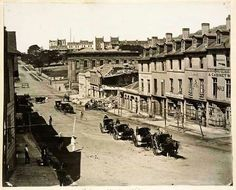 Bridge St,Sydney,between George and Pitt Sts (year unknown). The Rocks Sydney, Sydney City, Australia Day, Historical Pictures, Continents, East Coast, Old Photos, Largest Countries, Worlds Largest