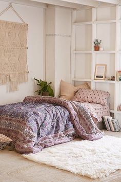 Urban Outfitters has the most adorable bedding for such an affordable price! Get a new bed set on ShopStyle