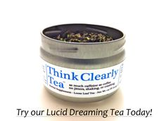 Tea Mind Body - Lucid Dreaming Tea - Lucid Dream with Guayusa Herb Tea