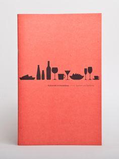 Kulturcafé im Kesselhaus — Corporate Design by Martin Knupfer, via Behance