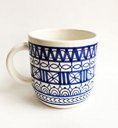 Ceramic Design, Cocoa, Folk, Pottery, Mugs, Friends, Tableware, Ceramica, Amigos