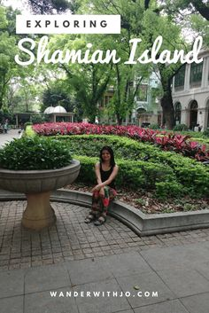 The beautiful Shamian Island in Guangzhou, China