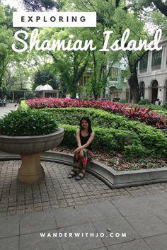 The beautiful Shamian Island in Guangzhou, China