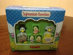 Sylvanian Families The Puddleford Duck Family TOMY UK Boxed 1990