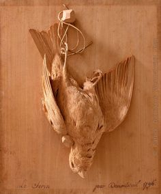 The work of Jean Démontreuil , French Woodcarver