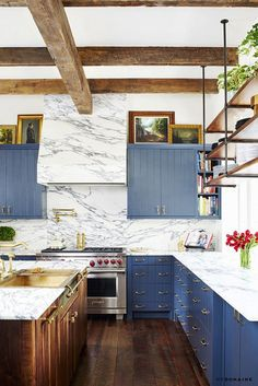 The Dreamiest Kitchens of 2016, According to Our Editors via @MyDomaine