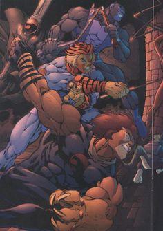 Thundercats: The Return #3 by Ed Benes