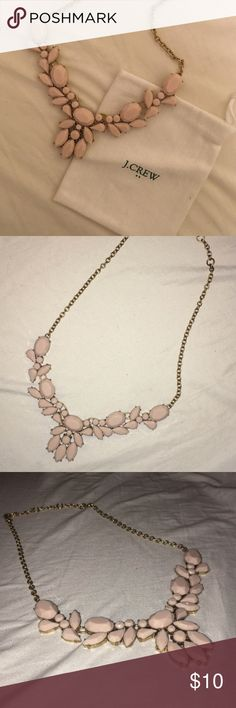 JCrew Pink Statement Necklace JCrew Pink Statement Necklace J. Crew Jewelry Necklaces