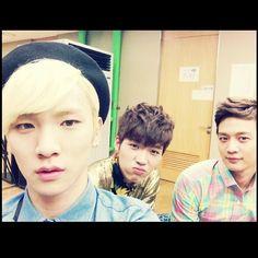 Key, Minho, and Woohyun