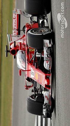 2017/7/14:Twitter:@Motorsport_IT :#Ferrari: solo un giro per #Vettel con la Shield sulla SF70H>