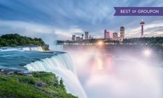Ramada Hotel Niagara Falls Fallsview - Niagara Falls, ON: Stay with Dining and Activities Package at Ramada Hotel Niagara Falls Fallsview in Ontario. Dates into May.