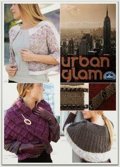 Colección lana Urban Glam de DMC.