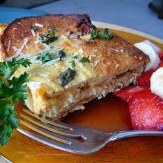 Bagel and Cheese Bake - Allrecipes.com