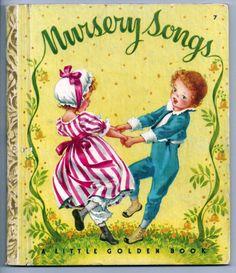 ''Nursery Songs'' Little Golden Book, illus Corinne Malvern | eBay