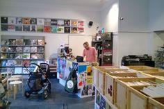 Stupido-Shop – Record store & café (Read more) Helsinki, Flat Screen, Store, Shopping, Blood Plasma, Larger, Flatscreen, Dish Display, Shop