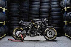 Ducati 750 SS Kraken por Iron Pirate Garage