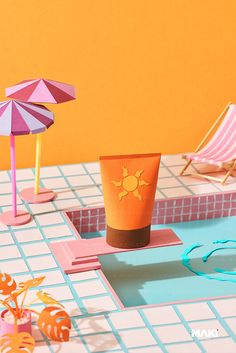 Sun cream tube Preparing to jump and dive. by Marc Tran - Stocksy United Summer Photography, Creative Photography, Paper Art, Paper Crafts, Ads Creative, Branding, Hello Summer, Commercial Photography, Stop Motion