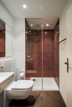 - wohnung zürich - designed by objekt 13 Innenarchitekur - Corner Bathtub, Divider, Bathroom, Furniture, Home Decor, Ideas, Houses, Quartos, Bath