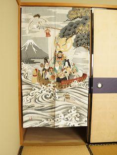 Shichi Fukujin Dimensions: 85cm x 150cm / 33.5in x 59.1in Made in Japan