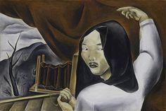 Yasuo Kuniyoshi(国吉康雄 1889ー1953)「Self-Portrait as a Photographer」(1924)