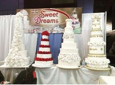The elegant cakes of Sweet Dreams