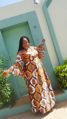 2020 Ankara Dresses Styles: Beautiful Ankara Styles To Rock - Dabonke : Nigeria Latest Gist and Fashion 2019 African Maxi Dresses, African Fashion Ankara, African Inspired Fashion, Latest African Fashion Dresses, African Dresses For Women, African Print Fashion, Africa Fashion, African Attire, African Wear