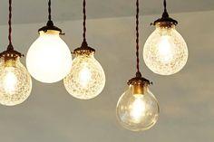 レトロガラスペンダントライトMarweles|照明器具の通販専門店CROIX