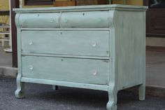 Sweet Mint Empire Dresser - Primitive and Proper