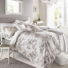 Holly Willoughby Floral Pink Jenna Duvet Cover
