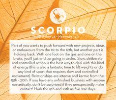 September horoscope 2013: Scorpio