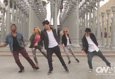 "Mark Ballas & Friends Dance To ""Happy"" 