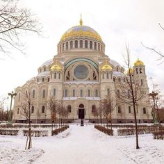 Kronstadt Naval Cathedral.  This and much more we are happy to show you during a visit to St. Petersburg. Our contacts: onetorussia1@gmail.com, tel. +7 (906) 097-37-77  http://onetorussia.com/en/tours/nazvanie-tura-2.html  #look #follow #russia #tour #tou