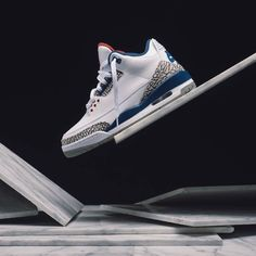 Nike Air Jordan 3 Retro OG True Blue - 2016 Womens Jordans 8de82e586