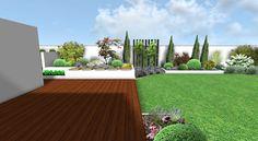 moderni zahrada