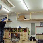 DIY Garage Storage Shelves to Maximize Space