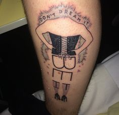 'The Rocky Horror Picture Show' Tattoo - I highly doubt I'd get this, but this is so fucking cool. I like it.