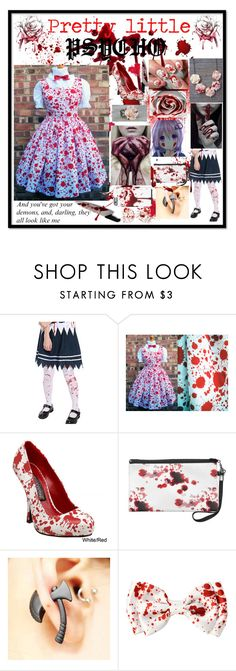 """""""Pretty Little PSYCHO"""" by emotionlessgirl783 ❤ liked on Polyvore featuring Funtasma"""